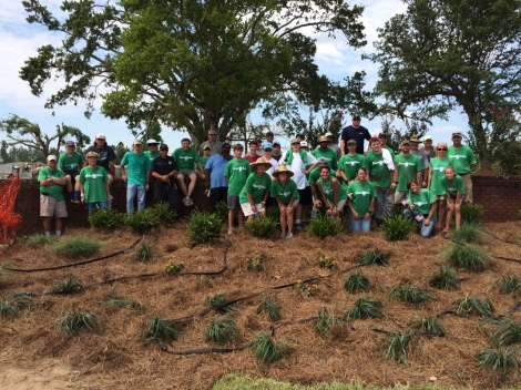 More than 70 volunteers joined Keep Mississippi Beautiful in Columbia on June 6 to help improve the town's Woodlawn Cemetery, which was badly damaged in a 2014 tornado.