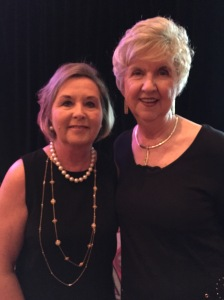 Keep Mississippi Beautiful Executive Director Sarah Kountouris with former Executive Director Barbara Dorr.